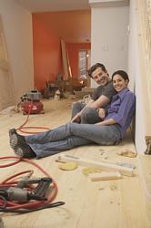 DIY Homeowners on floor wr large