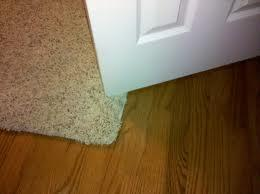 Cutt down door for carpet