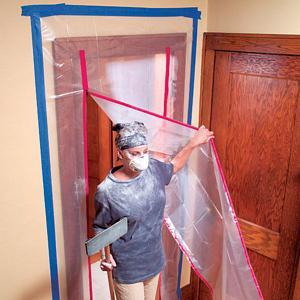 Dust door