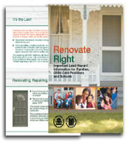 EPA Lead paint Brochure