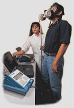 Fit testing a respirator