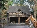 Garage demolition