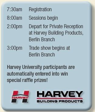 Harvey University schedule
