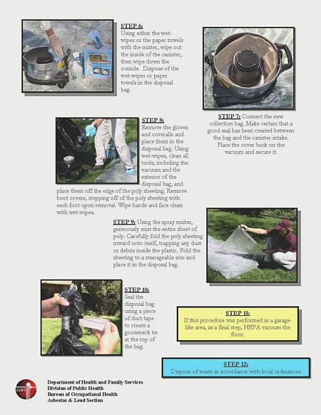 change a hepa vac bag