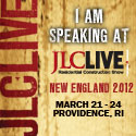 Shawn McCadden SSeminars at JLC Live Providence 2012