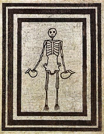 Pompeii skeleton