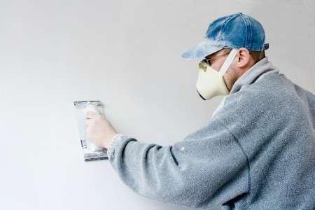 Sanding drywall