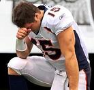 Tebow prays