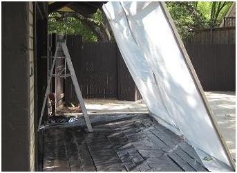 exterior vertical containment