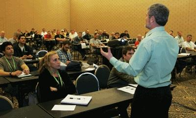Contractor training by Shawn McCadden
