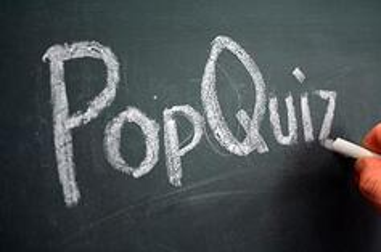RRP Pop Quiz