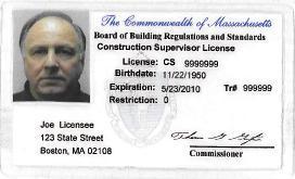 Sample CSL License wr