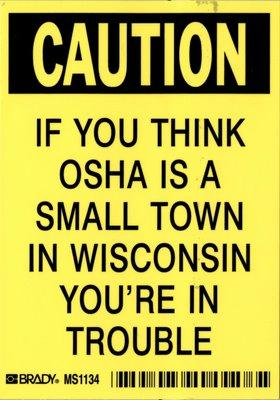 OSHA for contractors