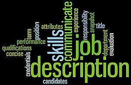 Construction company job descriptions