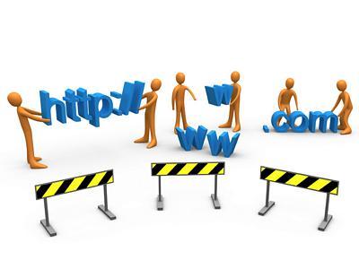 Contractor website designer