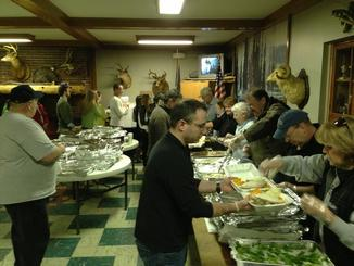 HFG Thanksgiving Food Line