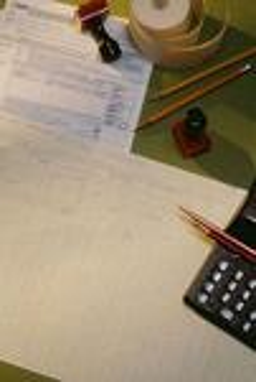 Contractor balance sheet