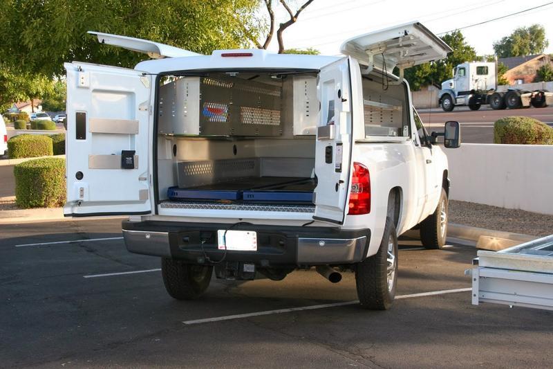 work truck for contractors