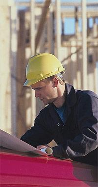 lead carpenter on job site